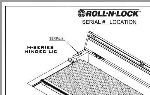 Numéro de série Roll-n-lock